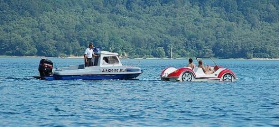 Dbając o bezpieczeństwo przebywających nad wodą