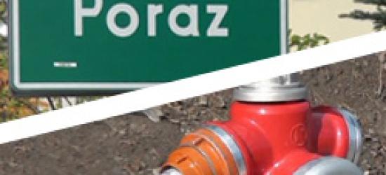 Sieć wodociągowa dla mieszkańców Poraża, Morochowa i osiedla Leska Góra w Zagórzu (FILM)