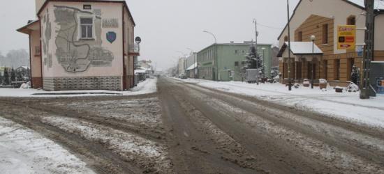 Zagorz24.pl: Zaśnieżone ulice Zagórza po jednym dniu opadów (ZDJĘCIA)