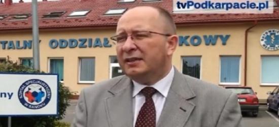 SZPITAL SANOK: Dyrektor sanockiego szpitala składa rezygnację (FILM)