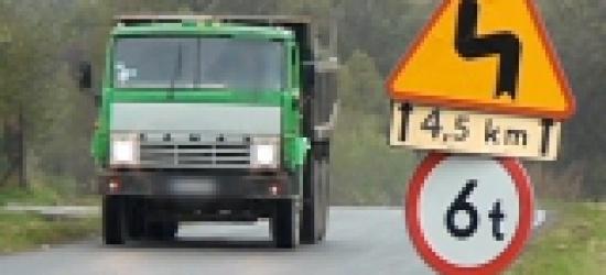 Czy 30-tonowe ciężarówki niszczą drogi i mosty w powiecie sanockim? (VIDEO HD)