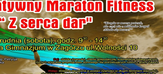 II Charytatywny Maraton Fitnessu w Zagórzu