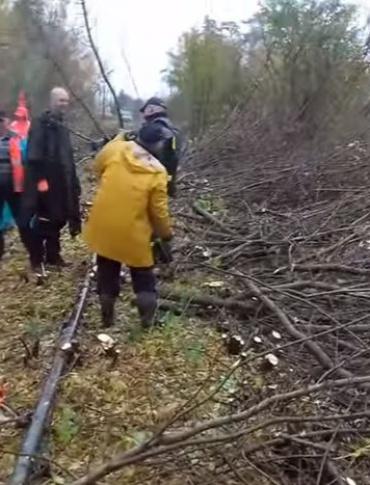 Bieszczadzka Siekierezada Kolejowa. Pierwsza bitwa wygrana. Minister MSWiA gratuluje (FILM)
