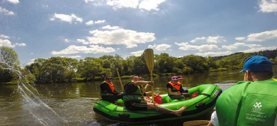 """Spływy rekreacyjne """"Zielonym Pontonem"""". Odkryj dolinę Sanu"""