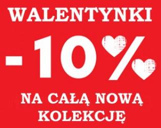PROMOCJA WALENTYNKOWA -10% na całą nową kolekcję w sklepie obuwniczym ASPENA! Trwa wyprzedaż obuwia zimowego!