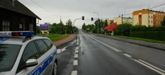 25 – letni kierowca potrącił kobietę na przejściu dla pieszych w Zagórzu (ZDJĘCIA)