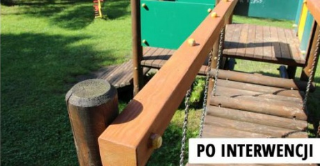 Interwencja ESANOK.PL: Place zabaw w gminie Zagórz po naszej interwencji są ładne i bezpieczne (ZDJĘCIA)