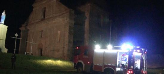 Pożar w klasztorze. Konieczna ewakuacja. Są ranni (FILM)